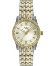 Rotary LB00793-09 Damen Uhren mit zwei Tönen Uhr
