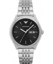 Emporio Armani AR1977 Mens kleiden Silber Stahl Armbanduhr