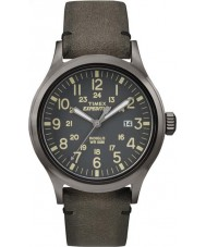 Timex TW4B01700 Mens Expedition analoge braun Uhr angehoben