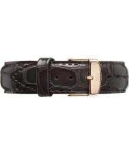 Daniel Wellington DW00200085 Dapper 19mm york Roségold Ersatzband