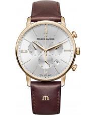 Maurice Lacroix EL1098-PVP01-111-1 Mens eliros braunem Leder Chronograph