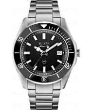 Bulova 98B203 Mens Marine Star Silber Stahl-Armbanduhr