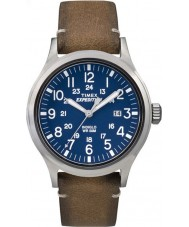 Timex TW4B01800 Mens Expedition analoge erhöhten tan Lederband Uhr
