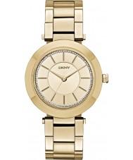 DKNY NY2286 Damen stanhope vergoldete Armbanduhr