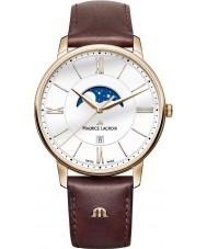 Maurice Lacroix EL1108-PVP01-112-1 Mens eliros braunes Lederarmband Uhr