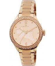 Radley RY4190 Damen Rotgold mit Steinen Armbanduhr plattiert