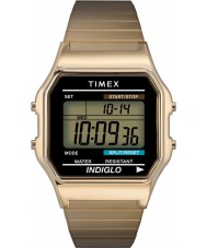 Timex T78677 Mens Gold klassische digitale Chronograph