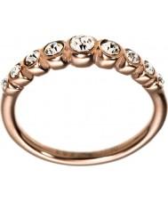 Edblad 2153441919-S Damen Valenz Roségold vergoldet Linie Ring - Größe n (n)