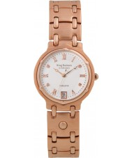 Krug-Baumen 5116RDM Charleston 4 Diamanten Rose Band Gold Zifferblatt Gold