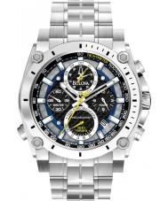 Bulova 96G175 Herren Precisionist Silber Stahlarmband Chronograph