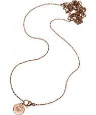 Edblad 116130174 Damen charmentity Roségold vergoldet lange Kette