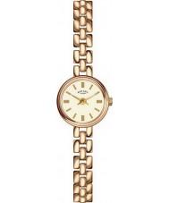 Rotary LB02543-03 Damen Uhren vergoldet Uhr