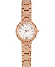 Krug-Baumen 5116RDL Charleston 4 Diamanten Rose Band Gold Zifferblatt Gold
