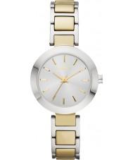 DKNY NY2401 Damen stanhope zwei Ton Stahl-Armbanduhr