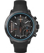 Timex T2P272 Mens schwarzes T-Serie linear Chronograph