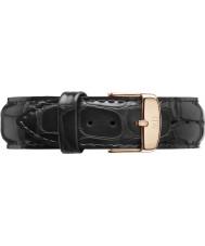 Daniel Wellington DW00200014 Klassische 20mm Lese Roségold Ersatzband