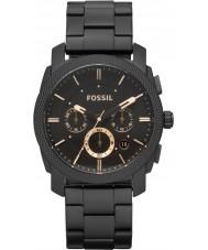 Fossil FS4682 Herren-Maschine schwarz Chronograph