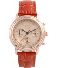 Krug-Baumen 150575DL Prinzip Diamant Damen Rotgold Chronograph