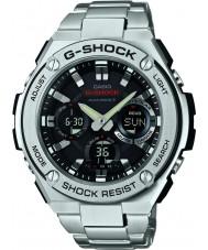 Casio GST-W110D-1AER Mens G-Shock Radio solarbetriebene silberne Uhr gesteuert