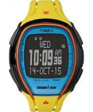 Timex TW5M00800 Ironman 150 Lap in voller Größe schlankes gelbes Harz Bügeluhr