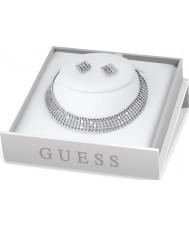Guess UBS84010 Glam-Halskette-Geschenksatz der Damen Mitternacht