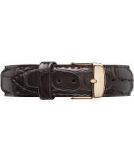 Daniel Wellington DW00200093 Dapper 17mm york Roségold Ersatzband