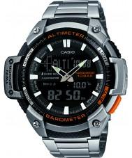 Casio SGW-450HD-1BER Herren Kern Silber Höhenmesser und Barometer Kombi-Uhr