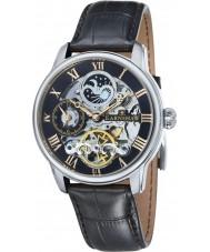 Thomas Earnshaw ES-8006-04 Herren Länge schwarz Krokolederband Uhr