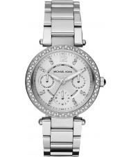Michael Kors MK5615 Damen parker Silber Stahl Armbanduhr