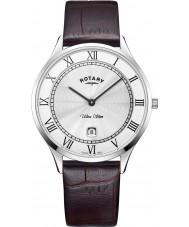 Rotary GS08300-01 Mens ultra schlanke Uhr