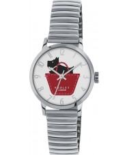 Radley RY4219 Damen Stretch Silber Stahl Expander Uhr