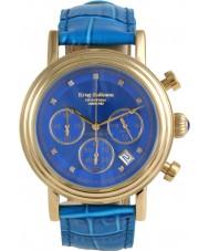 Krug-Baumen 150584DM Enterprise-Diamant-blau-gold Wahl