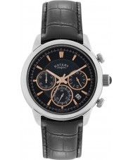 Rotary GS02876-04 Herren-Uhren monaco schwarz Chronograph