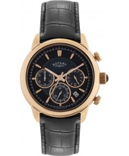 Rotary GS02879-04 Herren-Uhren monaco schwarz Chronograph