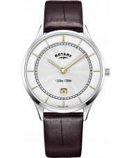 Rotary GS08300-02 Mens ultra schlanke Uhr