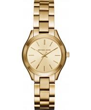 Michael Kors MK3512 Damen schlank Runway vergoldet Armband-Uhr