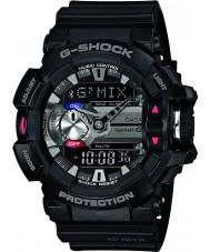 Casio GBA-400-1AER Mens g-shock schwarz bluetooth Kombi Uhr