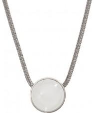 Skagen SKJ0080040 Damen Seeglas Silber Stahl Halskette