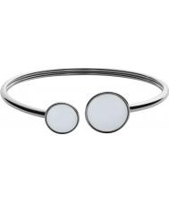 Skagen SKJ0788040 Damen Seeglas Silber Stahl poliert Armband