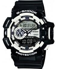 Casio GA-400-1AER Mens g-shock weiß schwarz Chronograph