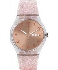 Swatch SUOK703 New Gent - pink glistar Uhr