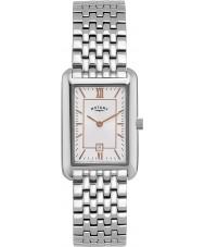 Rotary LB02685-02 Damen Timepieces weiß silberne Uhr