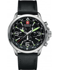 Swiss Military 6-4224-04-007 Herren arrow Chrono schwarz Uhr