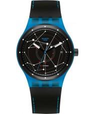 Swatch SUTS401 Sistem51 - sistem blau Automatik-Uhr
