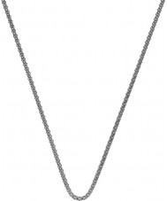 Emozioni CH028 18 '' Sterling Silber Popcorn-Kette