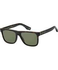 Marc Jacobs Herren Marc 275 s 086 QT 55 Sonnenbrille