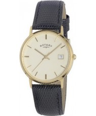 Rotary GS11476-03 Mens Edelmetalle 9ct Gold Fall Uhr