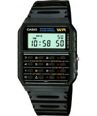 Casio CA-53W-1ER Mens limitierte Auflage zurück in die Zukunft Rechner schwarze Uhr