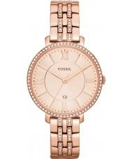 Fossil ES3546 Damen jacqueline Roségold Ton Uhr