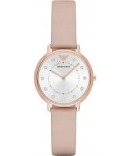 Emporio Armani AR2510 Damen kleiden hellbraune Lederband Uhr
